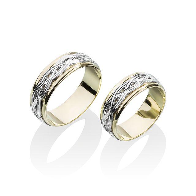 Fusion Celtic - Snubní prsten z kolekce Magic - Prsteny Žabka (F004)