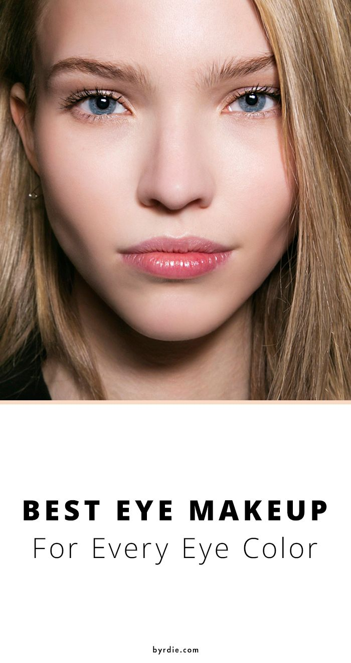 The prettiest eye makeup shade for your specific eye color