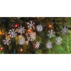 Snowflake Handcrafted Ornament