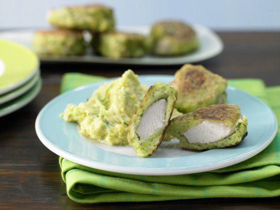Rezept: Puten-Nuggets im Zucchini-Mantel