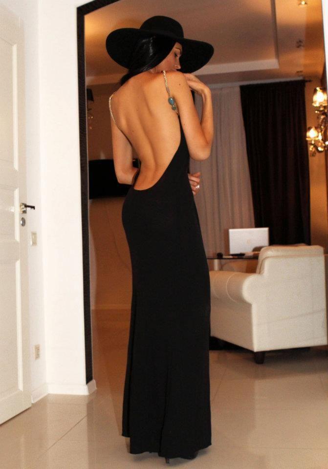 Fabulously sexy backless dress...so me
