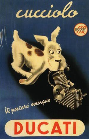 Vintage Ducati Ad