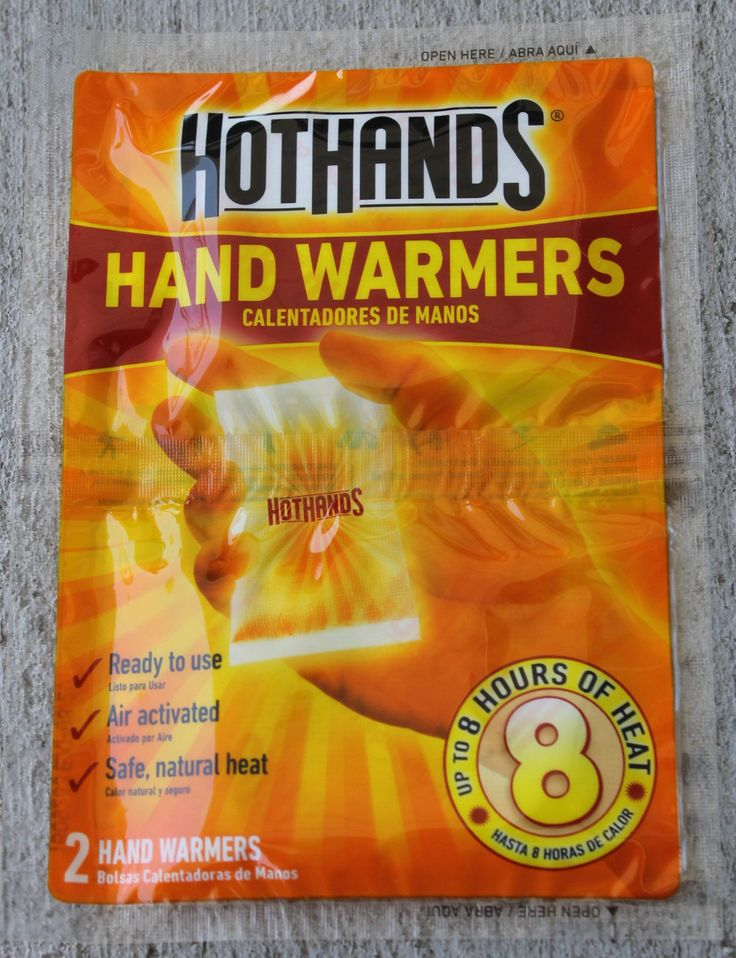 Hot Hands Hand Pocket Warmers Long Heat Up to 8 Hours in 1