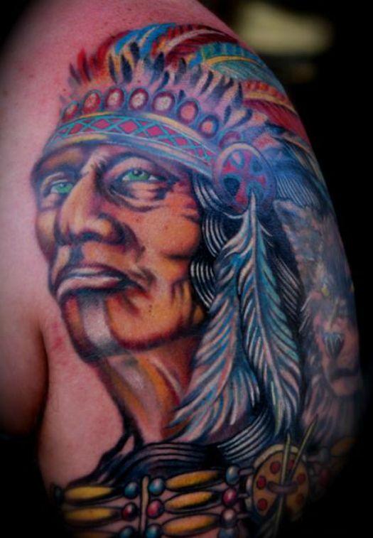 1000 id es sur le th me tatouage de chef indien sur pinterest sailor jerry flash tatouages - Tatouage crane indien ...