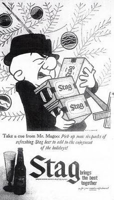 Mr. Magoo for Stag Beer