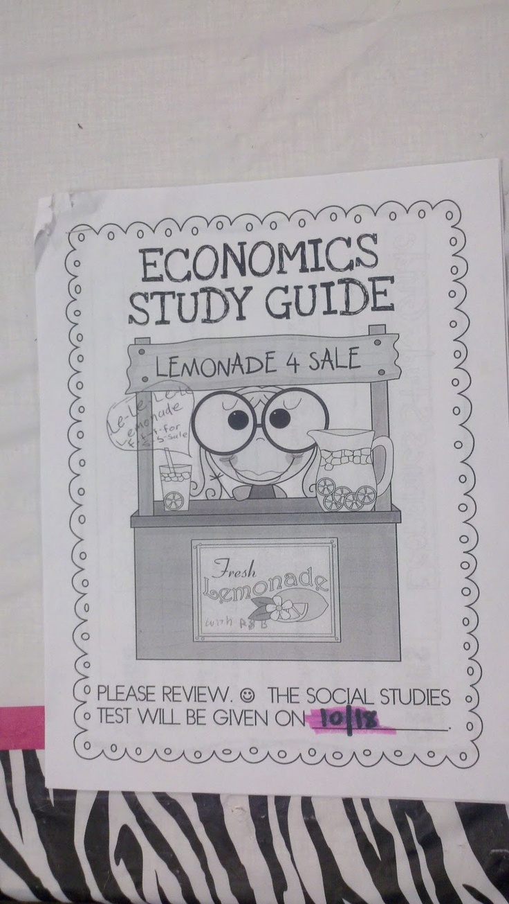 Study Guides for ECON 1000 at York University