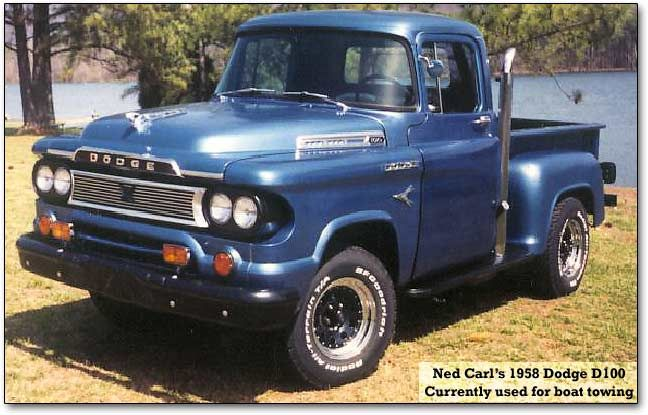 1958 Dodge D100 Dodge Ram History Page Antique Trucks