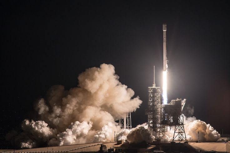 A SpaceX Falcon 9 rocket launched the EchoStar 23 communications satellite into orbit early Thursday (March 16) from Pad 39A at NASA's Kennedy Space Center in Cape Canaveral, Florida.