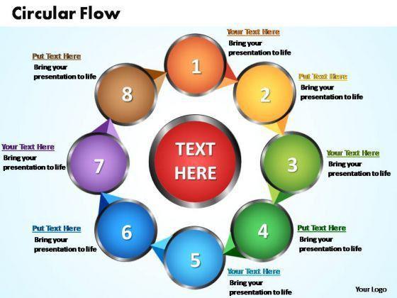 Powerpoint slides circular flow chart ppt templates powerpoint SlideGeeks #SampleResume #FlowChartTemplates