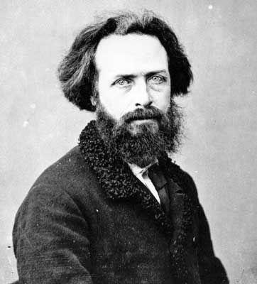 Elisée Reclus (1830-1905). Jacques Élisée Reclus est un géographe, militant et penseur de l'anarchisme français. Engagé activement Lors de la Commune il est fait prisonnier puis banni en Nouvelle Calédonie.