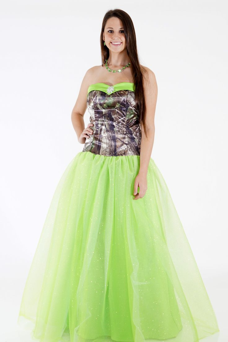 45 best apg realtree camo formal wear images on pinterest for Red camo wedding dresses