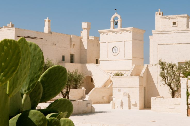 Stunning Hotel Backdrop in Puglia, Italy.