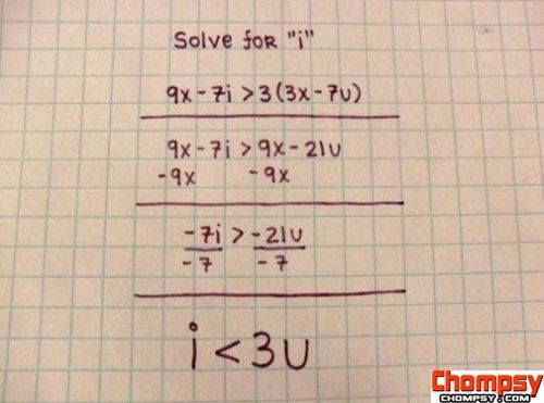 Solving Math With Love 1