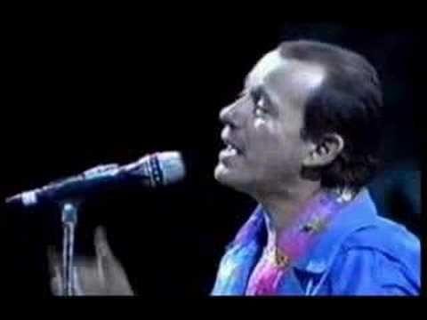 Mi unicornio azul.  Silvio Rodriguez en Santiago de Chile (1990) con Chucho
