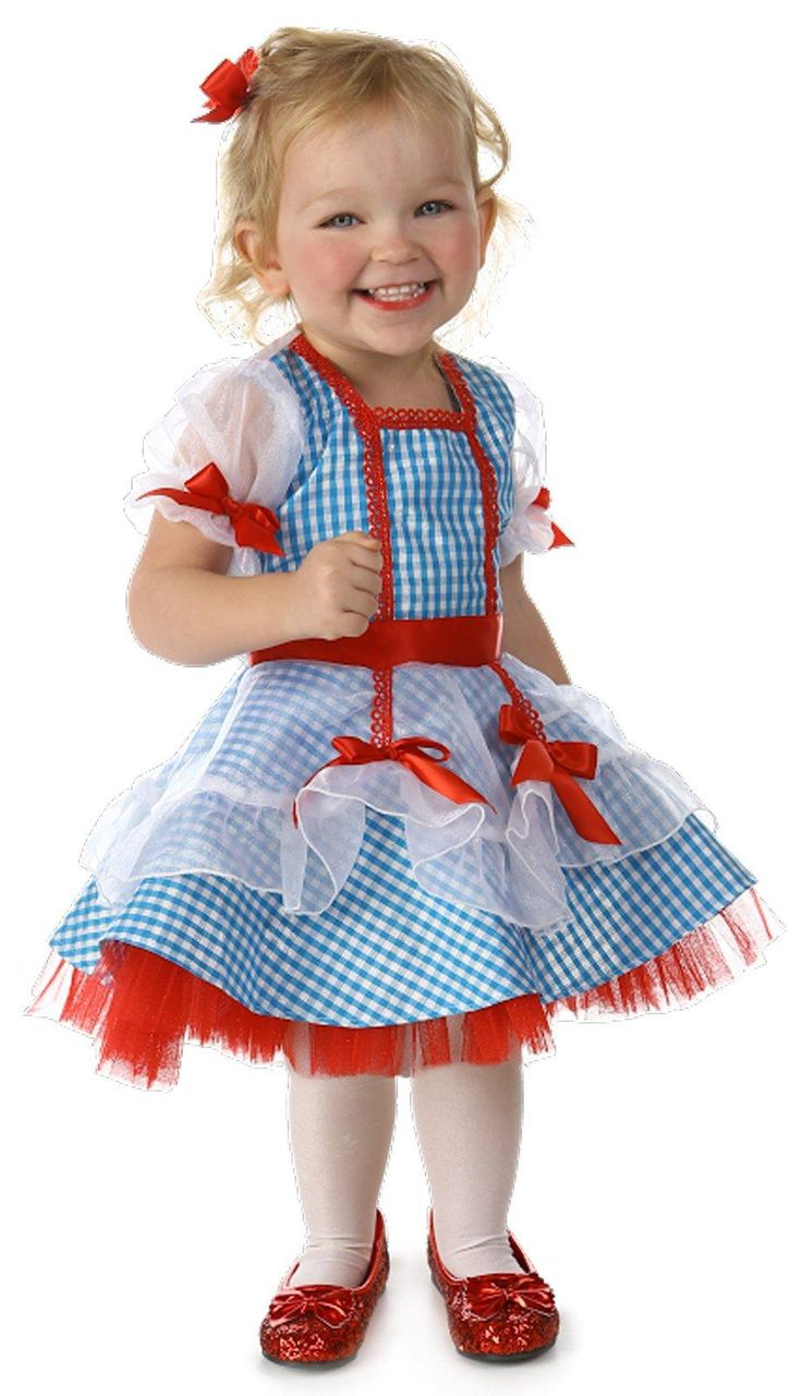 The Wizard of Oz Dorothy Costume for Toddlers from Buycostumes.com