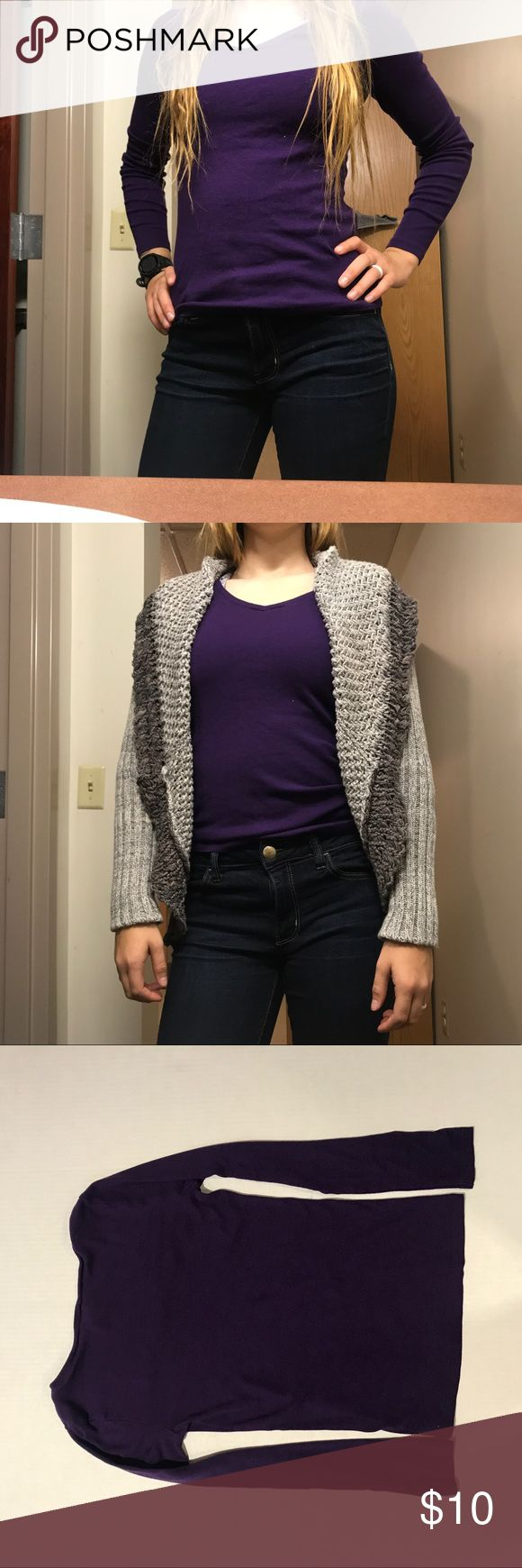 Purple Ralph Lauren sport long sleeve Ralph Lauren Sport Long sleeve Purple Symbol in top left corner Very comfy Size medium No flaws  Bundle and save! All prices are negotiable💙💜  18 Ralph Lauren Blue Label Tops Tees - Long Sleeve