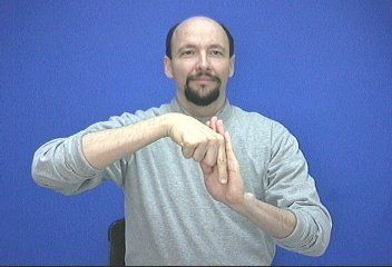 """half-hour"" ASL American Sign Language"