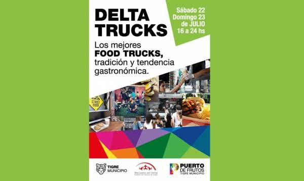 """""""Delta Trucks"""", una opción para disfrutar en familia las vacaciones de invierno en Tigre"""