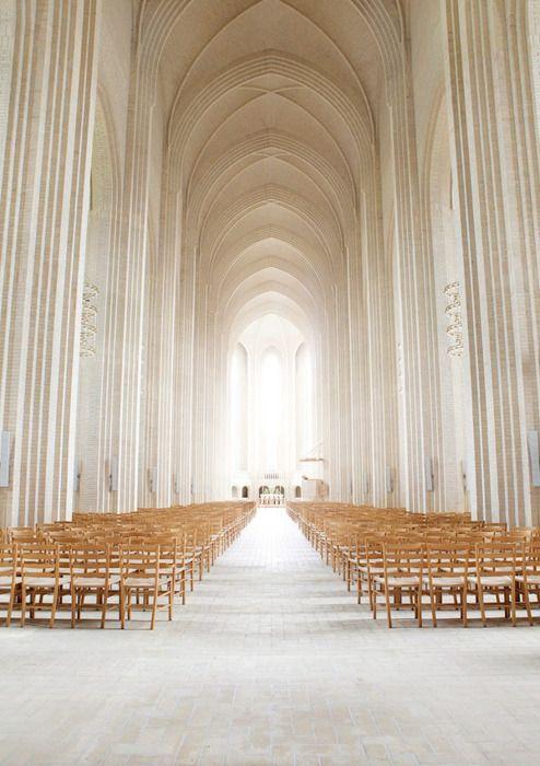 Grundtvig's Church, Copenahgen, Denmark