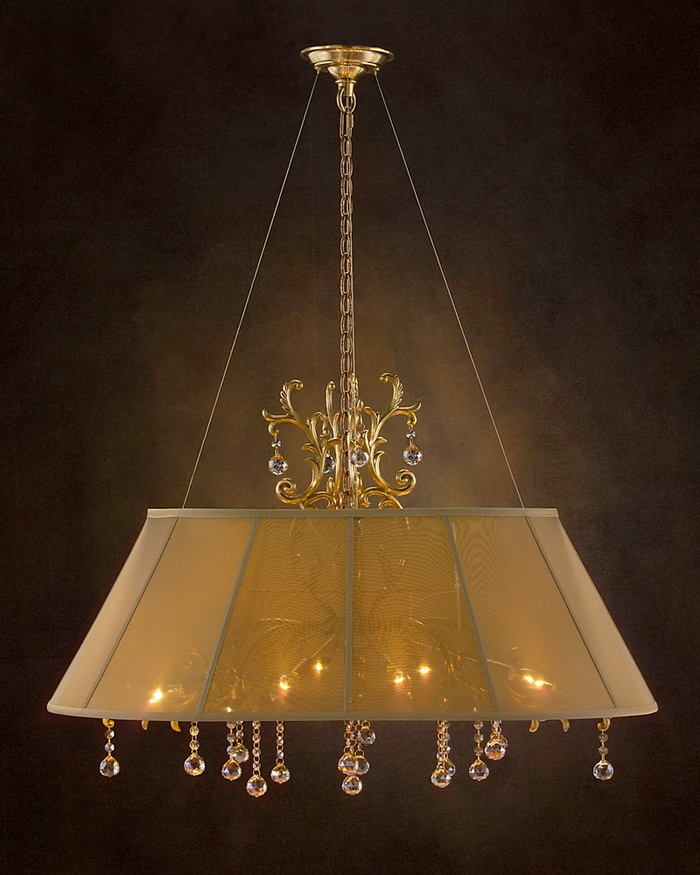 The hottest trend in lighting is the shaded chandelier. This chandelier features a candelabra base and a polished honey brass finish. & 391 best Lighting images on Pinterest | Chandeliers Lighting ... azcodes.com