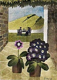 Auriculas and Lunch | Mary Fedden
