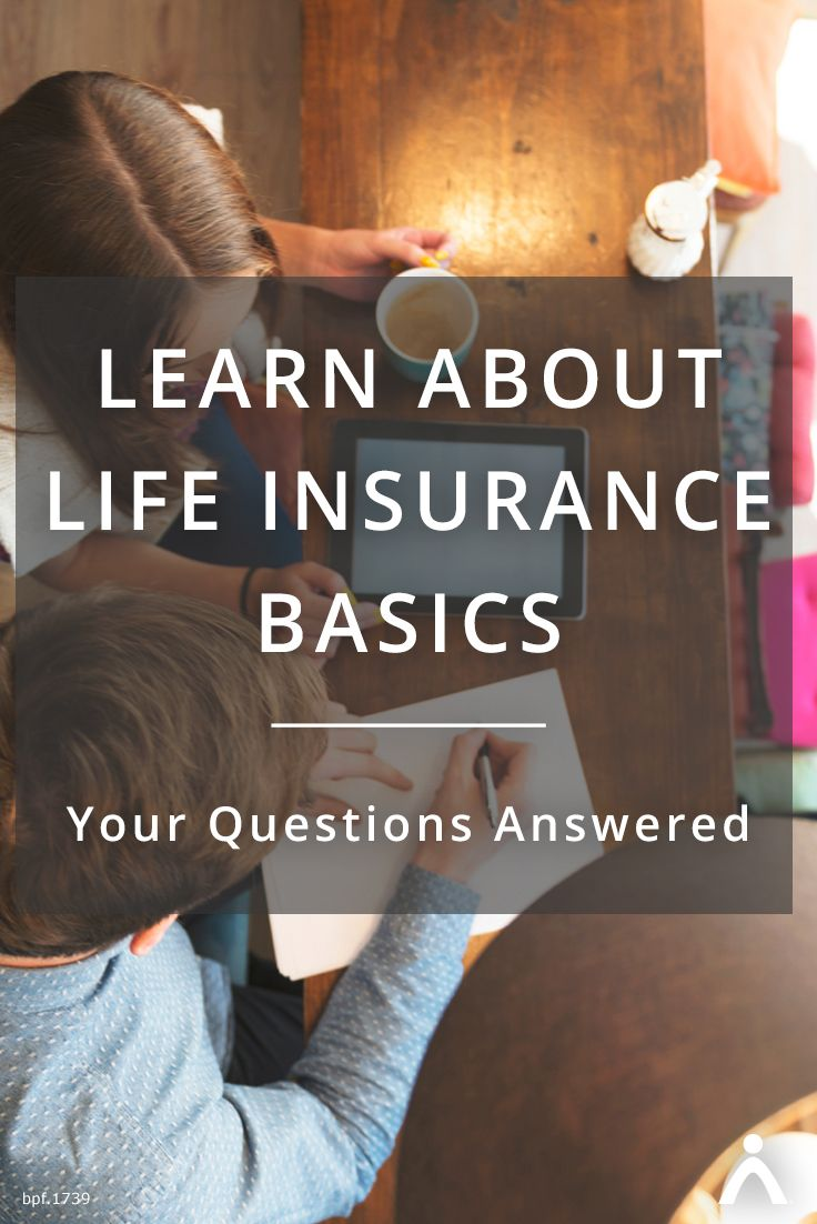 There are probably some things you've heard about life insurance that aren't completely clear. What is life insurance? What's the difference between whole life and term life? How much coverage do you need? These are all great questions! We're here to give you a better idea of who needs life insurance and what you can expect from it. #lifeinsurance