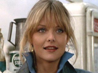 Michelle Pheiffer 1982 Greese 2 as Stephanie Zinone. Cheesy movie but it introduced this wonderful beauty.