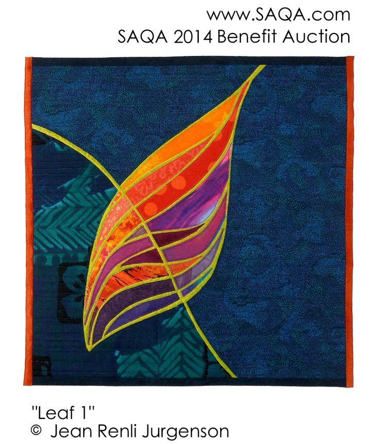 Art quilt by Jean Renli Jurgenson