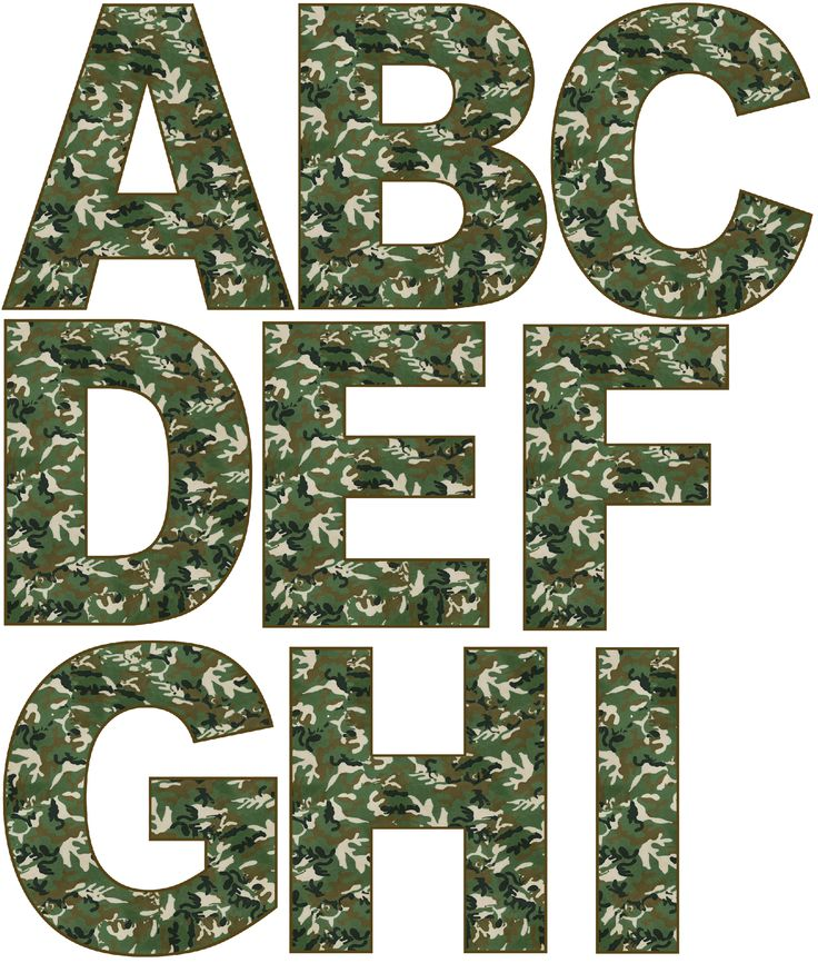 http://www.grannyenchanted.com/elements-alphabet/free-digital-scrapbook-elements-green-camo-alphabet/