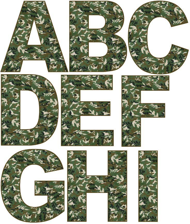 http://www.grannyenchanted.com/elements-alphabet/free-digital-scrapbook-elements-green-camo-alphabet/