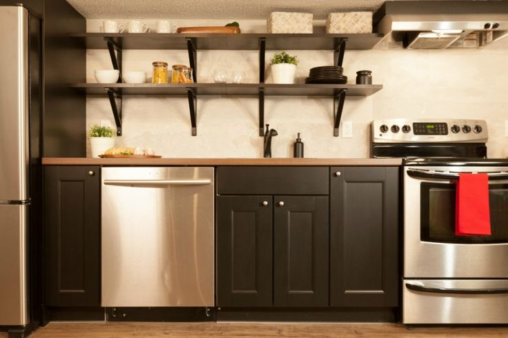 Alexis and Craig's new basement kitchen #IncomeProperty #HGTV