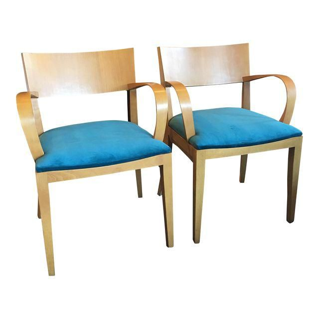 Beautiful Image Of Knoll Side Chairs   Pair