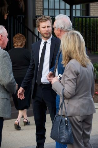 Musician Dierks Bentley attends the private visitation for George Jones on May 1, 2013 in Nashville, Tennessee. Jones passed away on April 26, 2013 at the age of 81. Photo: Jason Davis, Getty / 2013 Getty Images
