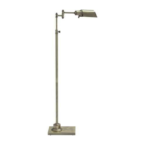 Arawn Antique Brass Finish Metal (Grey) Floor Lamp L734171 Arawn Antique Brass Finish Metal Floor Lamp