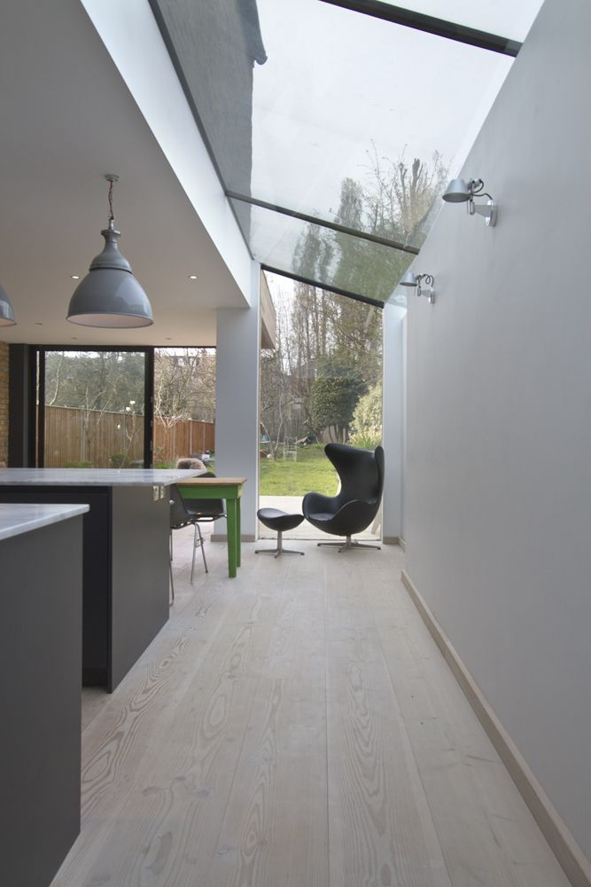 Beautiful understated extension with Roundhouse bespoke kitchen