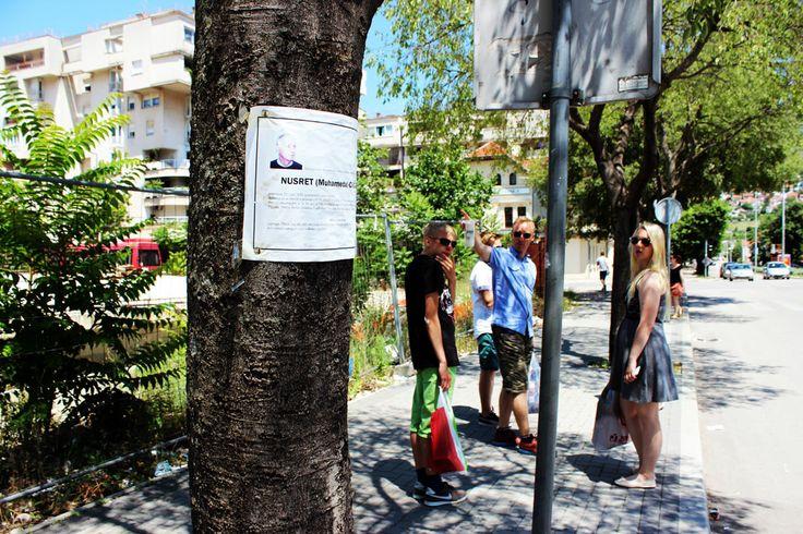 Mostar, BiH. People past away memorized.