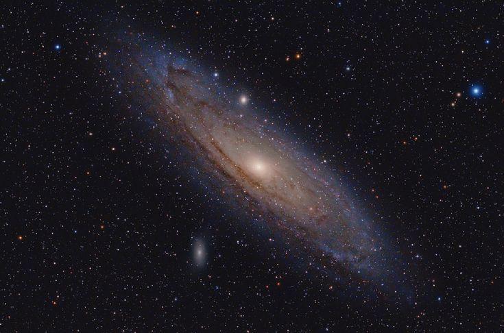 Photocoelum Grande Galassia di Andromeda M31 di Sergio Bove. Ripresa del 30 dicembre 2015. Tutti i dettagli della ripresa al link!