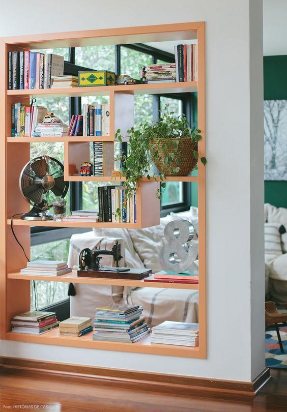 Dividindo o ambiente com estilo e modernidade