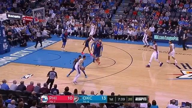 #tb to when Joel Embiid attempted to MURDER Westbrook and Russel responded by punishing the rim repeatedly and taking over the game  He stared him down so Westbrook returned the favor  Tag a friend that has a temper  #westbrook #joelembiid #killer #migos #danger #punisher #ice #cold #okc #thunder #philidelphia #sixers #godsplan #iphonex #striveforgreatness #invisibleboxchallenge #waterchallenge #staredown #nikeshoes #risingstar #mvp #gamewinner #poster #dangerous #dank #allstarweekend…