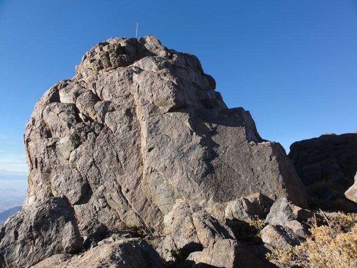 Promontorio del Cerro Roble Alto de 2185 msnm