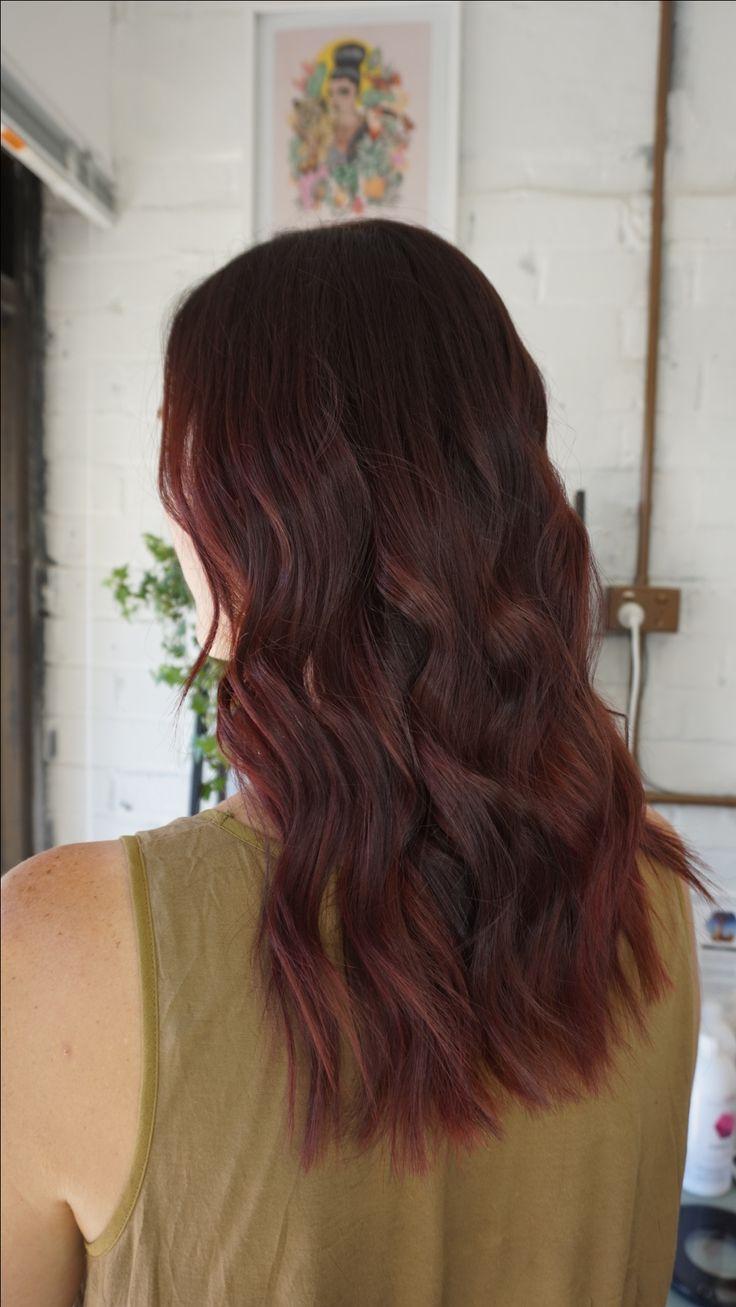 Red balayage #redhair