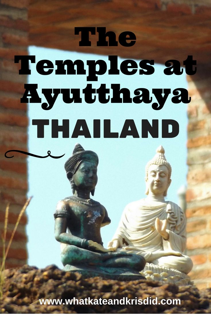 The Temples at Ayutthaya, Thailand, Where to spend New Year in Thailand #Thailand #Ayutthaya