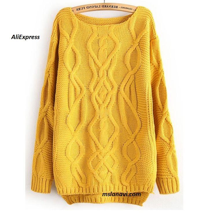 Вязаный пуловер с аранами из AliExpress http://mslanavi.com/2016/07/vyazanyj-pulover-s-shirokim-aranom-ot-zara/
