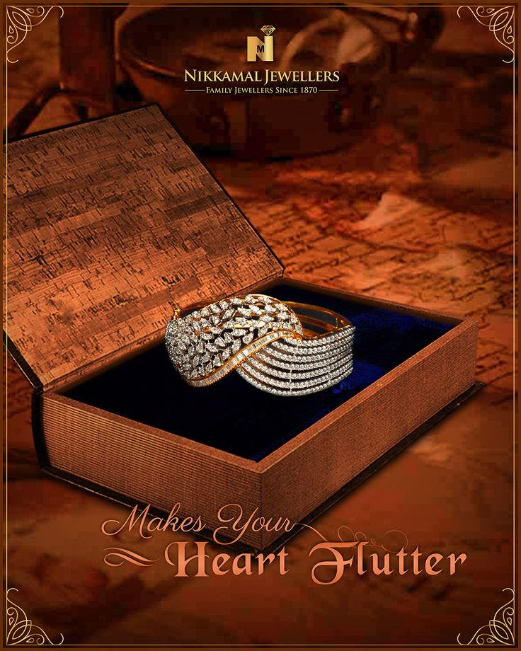 Jewellery That Makes Your Heart Flutter!! Many more designs to choose from. Buy them at Nikkamal Jewellers, Ludhiana & Jalandhar Showrooms