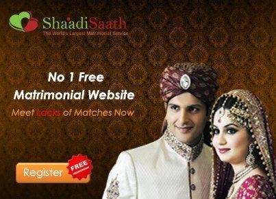 Online matchmaking, Matrimony, Matrimonial, Shaadi, Bharat Matrimony - Shaadisaath.com