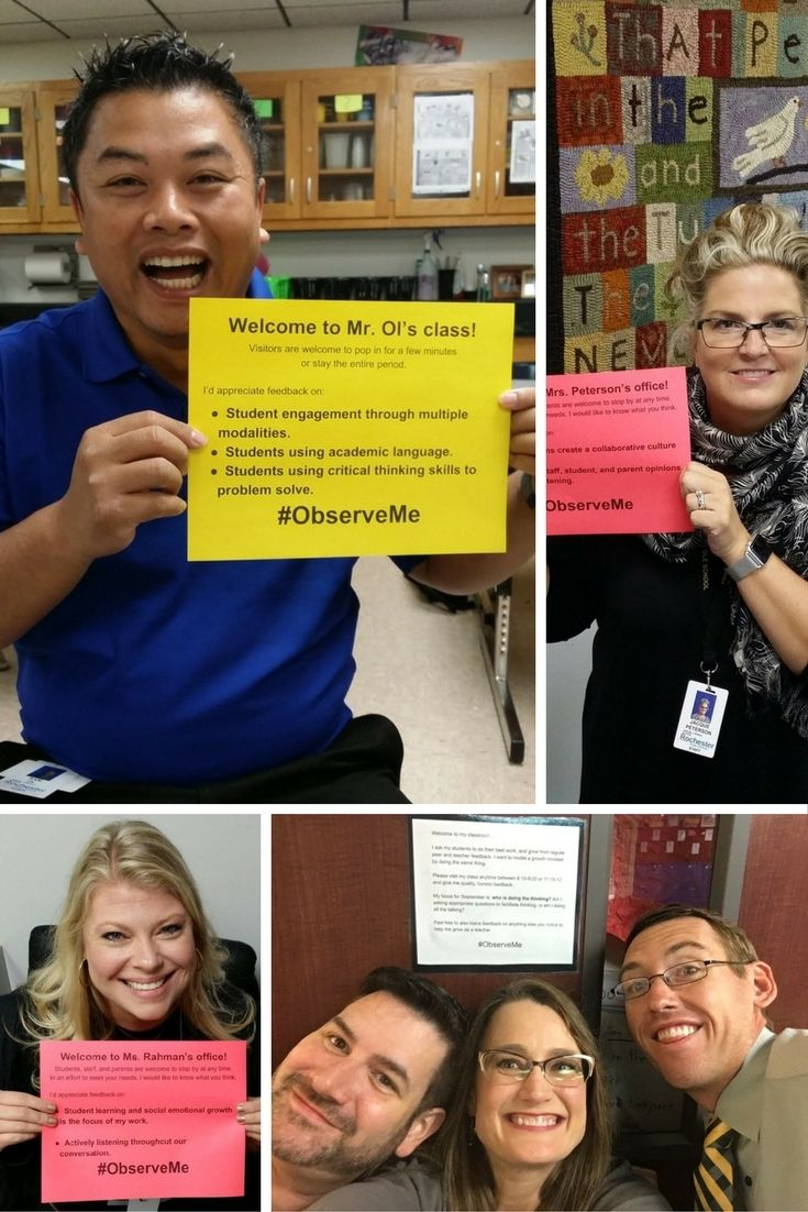 What have you learned from #ObserveMe challenge at your school? Share new ideas and tips that you've learned along the way..