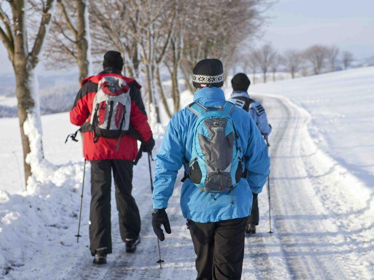 Winterwandern mit den richtigen Winterjacken - bei winterbekleidung.com
