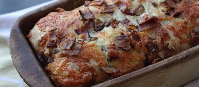 Το ψωμί…αλλιώς. Και ψωμί και τυρί και μπεϊκον και γρήγορα; Γίνεται.