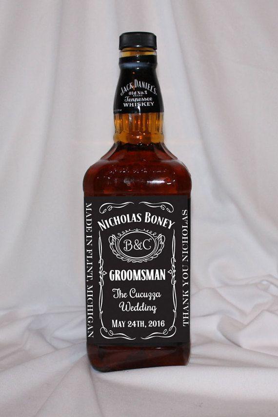 Groomsman Gift Personalized Groomsman Or Best Man Gift Jack Daniels Groomsman Gift Custom Groomsme Be My Groomsman Groomsmen Proposal Personalized Groomsmen