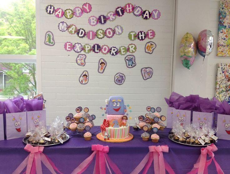 111 best Dora Birthday Party images on Pinterest Birthdays